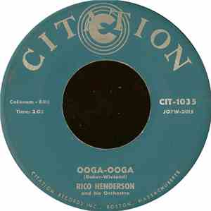 Rico Henderson And His Orchestra - Ooga-Ooga / Mardi Gras Cha
